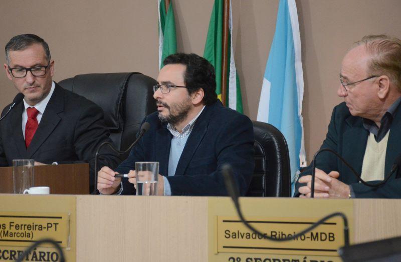 JORNALISTA Hélio Freitag Júnior, diretor do DIÁRIO DA MANHÃ também prestou depoimento na CPI do Pré-Câncer