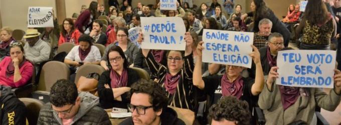 EXAMES PRÉ-CÂNCER : Implode a CPI na Câmara