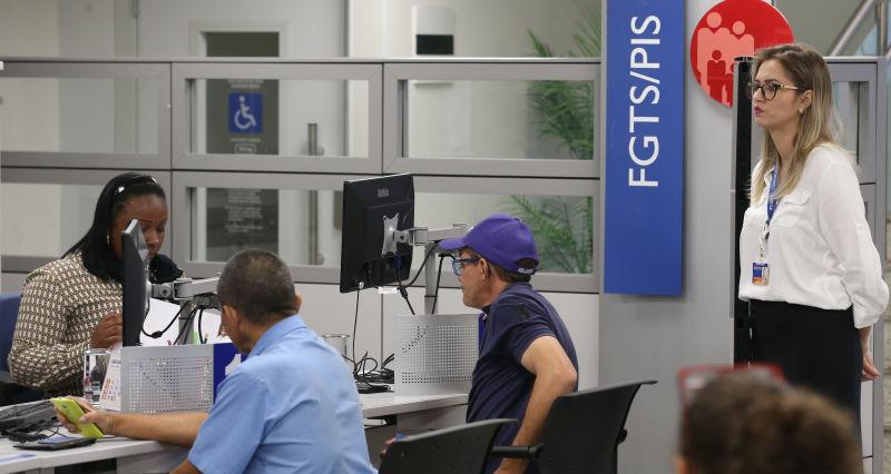 Caixa abre para atendimento sobre contas inativas do FGTS