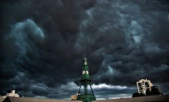 Estado terá temperaturas amenas e risco de chuva forte