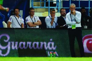 Tite e comissão técnica do Brasil vão observar evolução da seleção no principal teste pós-Copa da Rússia Foto: Lucas Figueiredo/CBF
