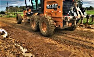 Estradas da zona rural recebem melhorias