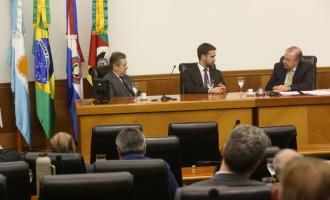 REUNIÃO NA FIERGS : Eduardo destaca cinco pontos para o Rio Grande competitivo