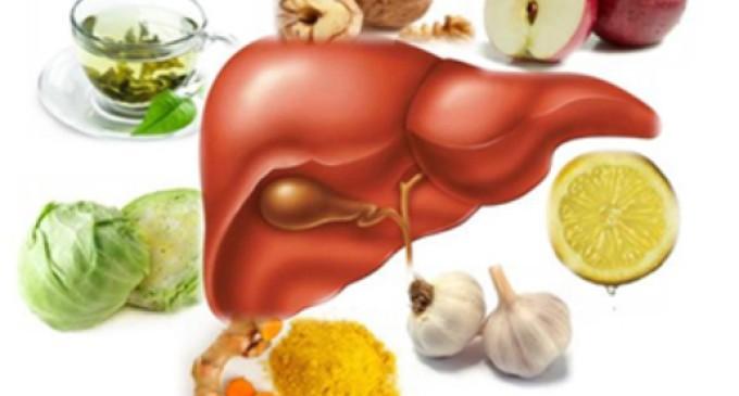 12 passos para desintoxicar nosso fígado
