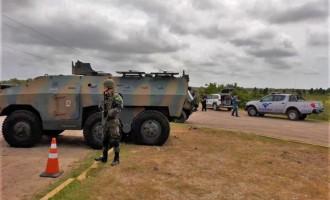 FRONTEIRA SUL : Exército executa operação na Região