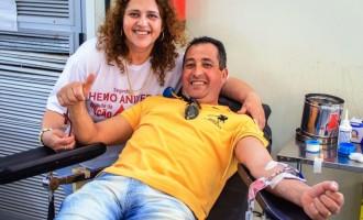HEMOCENTRO  : Campanha para doações de sangue