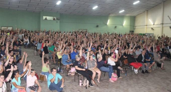 REDE MUNICIPAL : Professores paralisam na próxima terça-feira