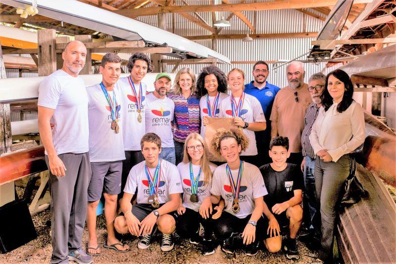 JOVENS pelotenses se destacam em competições de remo dentro e fora do país