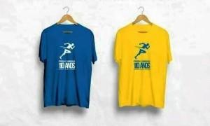 corrida LOBO camisetas