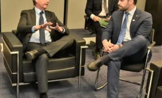 Eduardo Leite tem o primeiro encontro com Bolsonaro