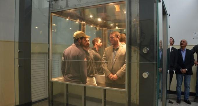 UFPel inaugura três novos elevadores no Campus Capão do Leão