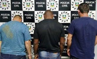 Polícia prende suspeito  de roubos e homicídio
