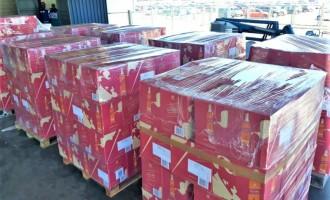 Receita Federal apreende 7200 garrafas de uísque