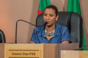 PROPOSTA foi da vereadora Daiane Dias