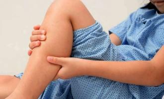Dor de crescimento afeta as crianças