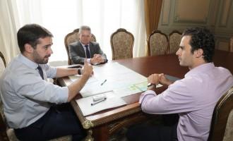 Lei de Incentivo à Segurança é discutida  em reunião com o governador do Estado