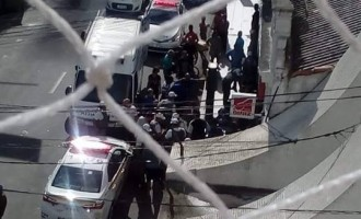 TENTATIVA DE HOMICÍDIO : Mototaxista esfaqueia comerciante
