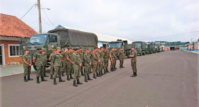 DUPLICAÇÃO DA BR-116  : Exército inicia trabalho no trecho entre Porto Alegre e Pelotas