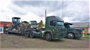 MILITARES integram o 1º Batalhão  Ferroviário de Lages (SC)