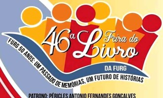 FEIRA DO LIVRO NO CASSINO  : 46ª Feira do Livro da FURG vai até dia 3 de fevereiro
