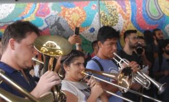 MERCADO CENTRAL : Apresentação musical marca início do 9º Festival Internacional Sesc de Música