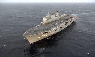 MAIOR NAVIO DA MARINHA : Porta Helicópteros Multipropósito Atlântico pode ser visitado em Rio Grande
