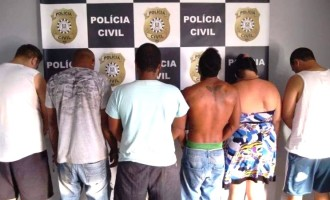 TRÁFICO : Ação de equipe da DRACO prende seis