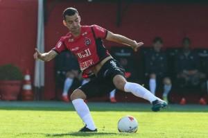 MAESTRO Diogo Oliveira volta ao time contra o Aimoré FOTO: Carlos Insaurriaga/AI GEB/Especial DM