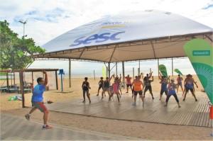 DE terça a domingo, moradores e visitantes contam com atividades variadas. Ações são uma parceria entre a Prefeitura  e o Sesc
