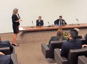 PREFEITA participou do debate do Projeto de Lei Anticrime em Brasília