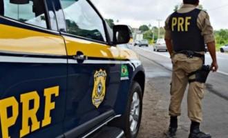 POLÍCIA RODOVIÁRIA  : Veículos estrangeiros flagrados na tentativa de ocultar as placas