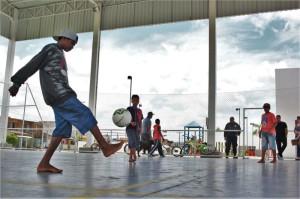 CENTRO de Artes e Esportes Unificado sedia aulas de ginástica e futsal, nas terças e quintas