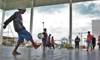 Comunidade do Dunas tem mais um espaço para atividades esportivas