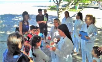 SAÚDE BUCAL : Educação e prevenção construindo sorrisos
