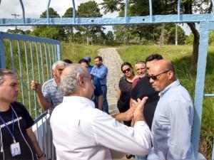 VEREADOR Marcus Cunha ficou satisfeito com as ações do Sanep