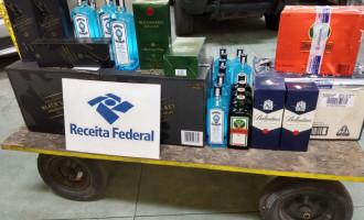 Receita Federal apreende bebidas com passageiro de ônibus intermunicipal