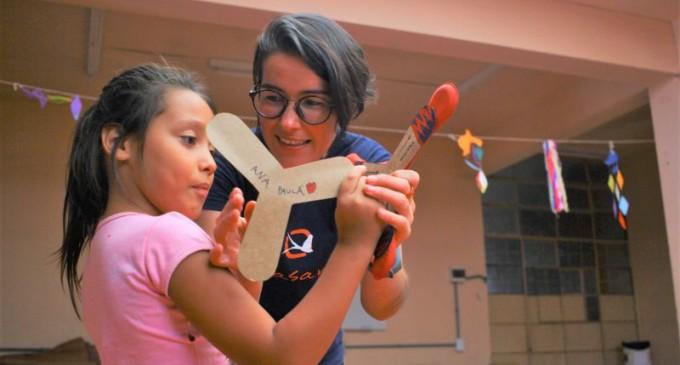 Município viabiliza oficinas de bumerangue em escolas
