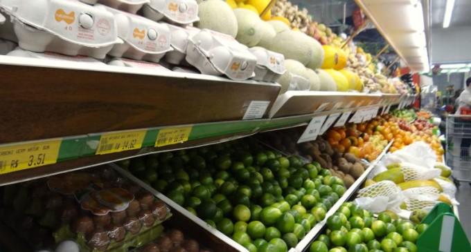 Custo do cesto básico reduz 0,5% em Pelotas, de acordo com EDR/UCPel