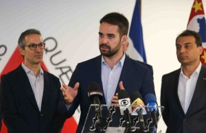 GOVERNADOR gaúcho, Eduardo Leite, participa de encontro em Minas Gerais