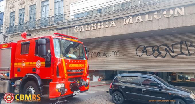 Incêndio na Galeria Malcon