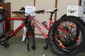 Bicicletas estão disponíveis