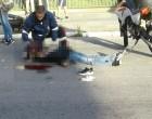 AV. FERNANDO OSÓRIO : Morte de motociclista após colisão com ônibus