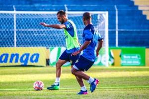 Pelotas realizou um último treino para duelar com o Grêmio Foto: Tales Leal / E.C. Pelotas