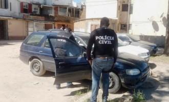Ladrões são presos no Pestano