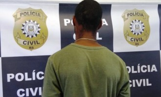 FLAGRANTE : Assaltante de vendedor é preso no bairro Areal