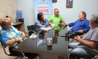 Comissão de Saúde pede reunião de emergência com prefeita