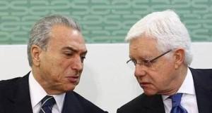 Michel Temer e Moreira Franco foram presos ontem