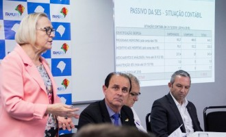 SAÚDE : Governo do Estado regulariza repasses para municípios