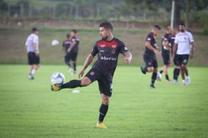 MEIO-Campista já treina com a camisa rubro-negra FOTO: Jonathan Silva/GEB Especial D