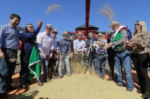 EXPECTATIVA da safra indica aumento de 9% na produção, com 18,7 milhões de toneladas de grãos Foto : Itamar Aguiar/Palácio Piratini